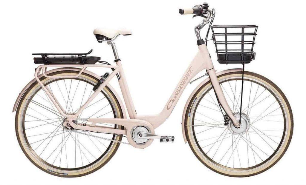 Rosa elcykel Crescent Elina 51 cm