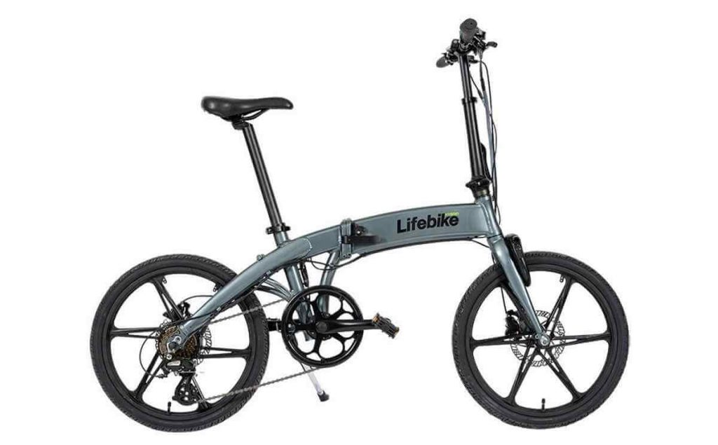 Lifebike C Pact G7 hopfällbar elcykel