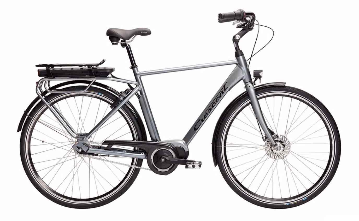 Crescent Elmo 7-växlad elcykel grå 2021